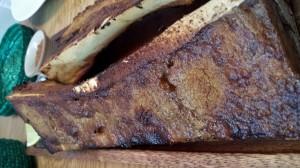 Tuétano a la brasa. Uno de los platos más sorprendentes. Nunca se había comido así el tuétano en España.