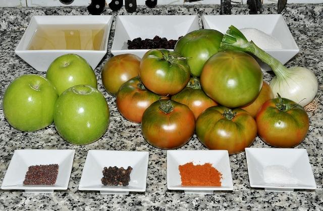 Churtney de tomate verde