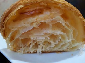 Croissant. Pastelería Susu. Alicante