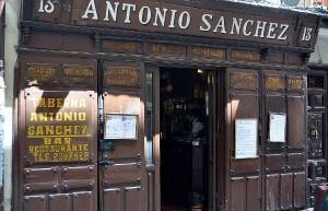Taberna de Antonio Sánchez. Los 5 Mejores