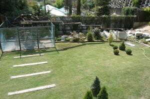 El Oso. Jardín