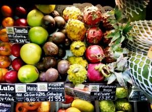 Frutas exóticas. Los 5 Mejores.