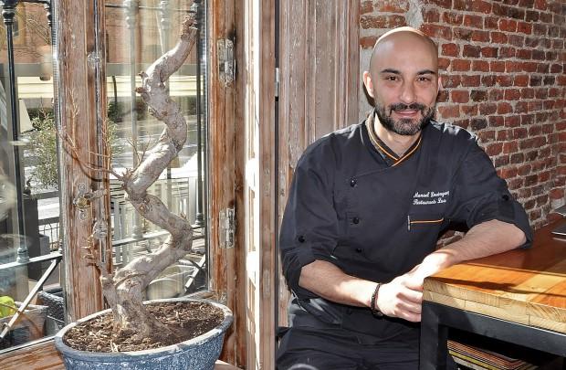 Manuel Domínguez cocinero y dueño de Lúa