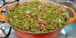 Menestra de verduras de Palencia acabada.