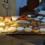 Mesa de quesos de Santceloni