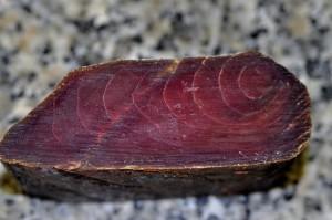 Mojama de atún.