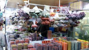Puesto aromáticas Mercar de Valencia