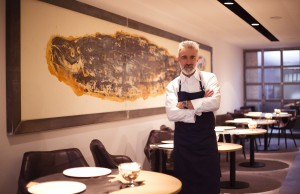 Sergi Arola en el renovado Sergi Arola Restaurante