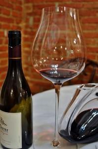 Servicio de vino