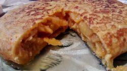Tortilla de patata de de Alfredo Franco .Jubete.